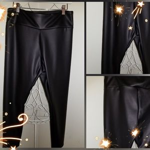 Express Faux Leather Legging Pants